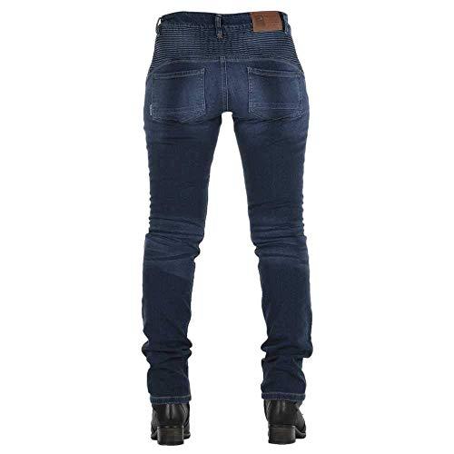 Overlap motorlaarzen voor dames, rok, zwart 28 EU Blauw