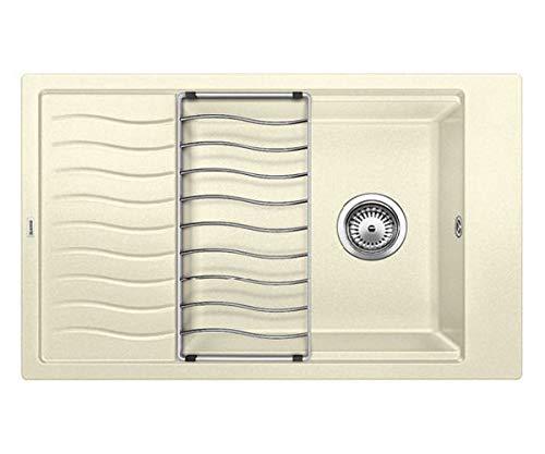 BLANCO ELON XL 6 S - Fregadero (Top-mount sink, Rectangular, Beige, Rectangular, 450 x 410 mm)