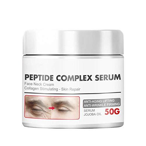 Hspemo Gesichtsstraffende,Creme Feuchtigkeitsspendende Gesichtscreme Lifting Whitening Cream Hautpflege für Männer Frauen,Anti-Falten, Anti-Aging,50g