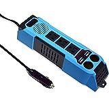 aeliussine 100W Power Inverter Modified Sine Wave Power Converter 12v to 110v 120v with Cigarette Lighter Cable Car Use