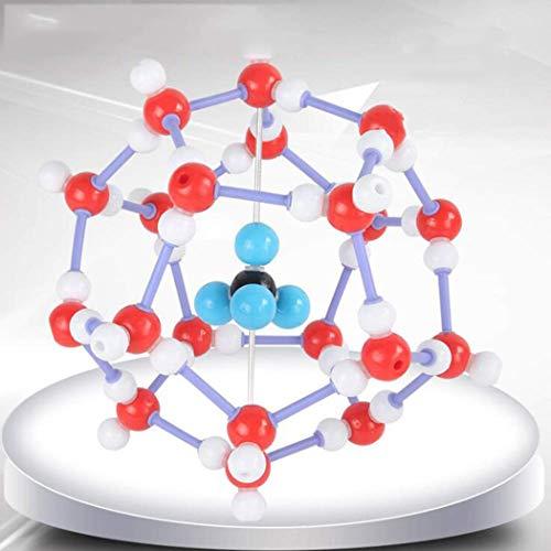 GEEFSU-Brennbare EIS Hockeyschläger-Kurve,Natur Gashydrat Räumliche Konfiguration - für High-School-Chemie-Lehrmittel Lehrmittel