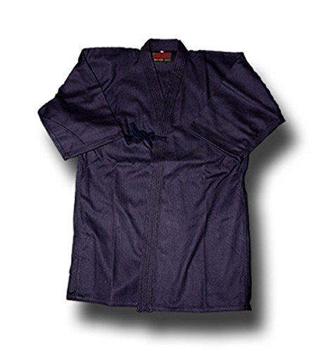 Shogun Keikogi/Chaqueta Kendo/Iaido Gi - Azúl Oscuro, 100% Algodon (190cm)