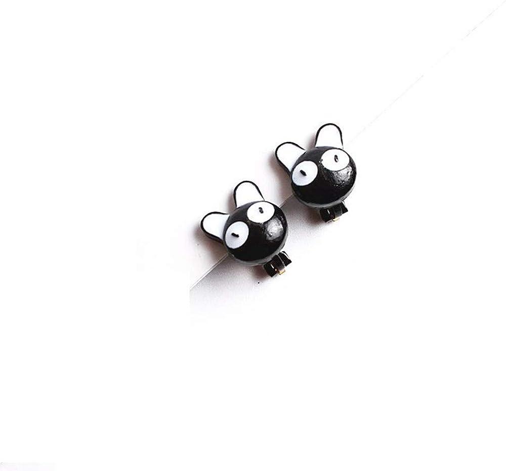 Black Cat Stud Earrings Big Eyes Cute Cartoon Animal Jewelry for Women Girls