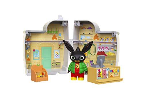 Golden Bear - Tienda de Padget con Figura de Bing y Accesorios: Caja Registradora, Estante