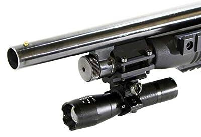 Trinity 1200 lumen hunting light for mossberg 500 12ga 20 ga pump aluminum black hunting optics tactical home defense accessory single rail mount