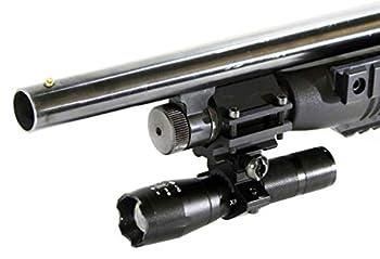 trinity 1200 lumen hunting light for winchester sxp defender pump hunting tactical aluminum black single rail mount