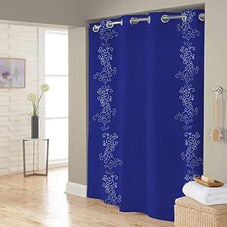 Right Canvas Blue 180cm x 200cm Shower Curtain - RG138NPIC00110