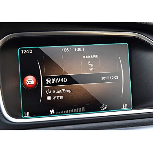 GLLXPZ Protector de Pantalla de navegación GPS para Coche, para Volvo V40 2013-2018, Película de Pantalla Película de Tablero Interior