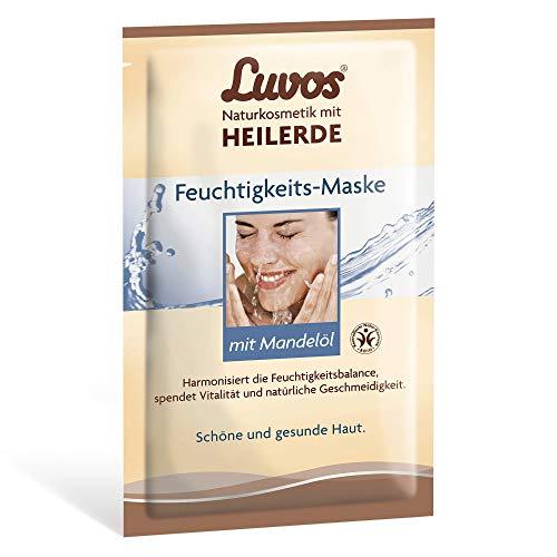 LUVOS Gesichtsmaske Feuchtigkeit, 1 Sachet mit 2x7,5l
