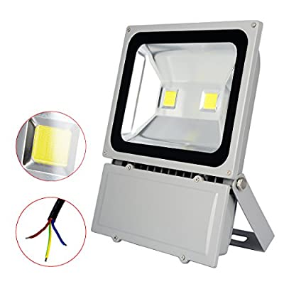 Sanzo® 100W White LED Floodlight Super Bright Led lights Lamp Outdoor Floodlight Spotlight