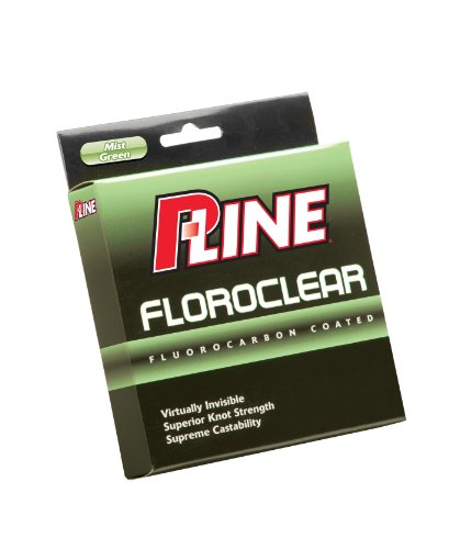 P-Line Floroclear 300-Yard Filler Fishing Line ( 10-Pound,...
