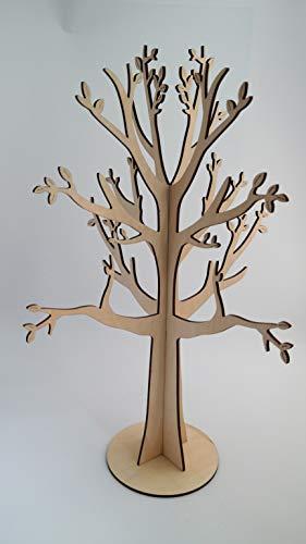 HGD CS00-006-A Dekobaum aus Holz, Braun