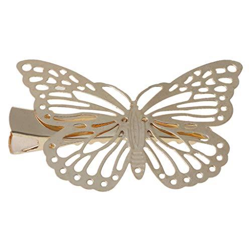 gulang-keng Chic Girl Lady Butterfly Claw Hairpin,Pinza para el pelo para mujer, accesorio para el pelo, regalo de joyería para el cabello
