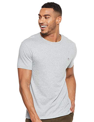 Photo of Timberland Men's Ss Deer River Elevated Core Tee T-Shirt, Grey (Medium Grey Heather 052), XX-Large