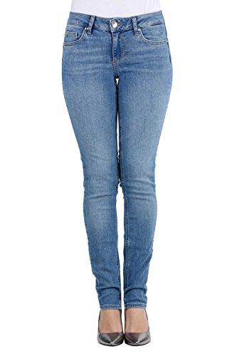 Liu Jo Damen UXX032D4057 Skinny Jeans, Blau (Den.Blue crux wash 77911), W25/L30