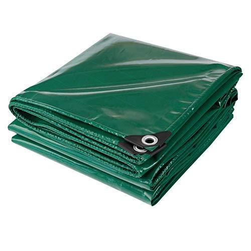MHBGX Lona Resistente Al Agua para Exteriores, Remolque de Coche de 450 G / M2, Muebles de Jardín a Prueba de Lluvia, Cubierta Seca para Leña, Tienda de Campaña, Refugio,una,Los 4X7M