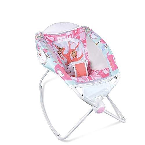 Sale!! LYATW Children's Cradle, Automatic Children's Cradle, Foldable Portable Children's Rocking Ch...