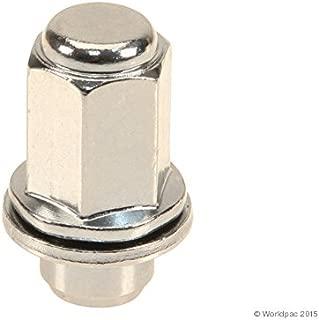 Pack of 5 Dorman 712-X95I5 Wheel Nut Cap Orange Aluminum