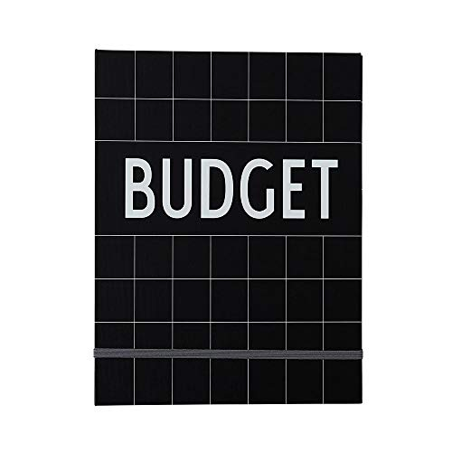 Libro de presupuesto de cartas de diseño