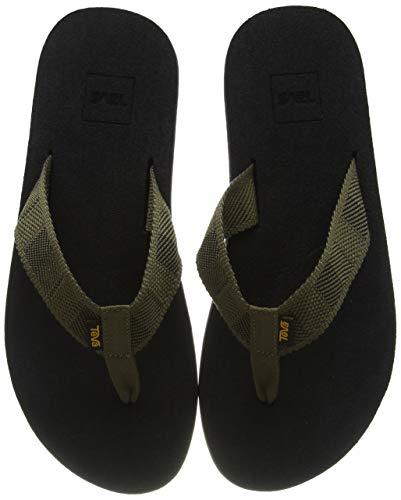Teva Mush II, Pantofole Uomo, Verde (Raki Dark Olive Rd Ol), 39.5 EU