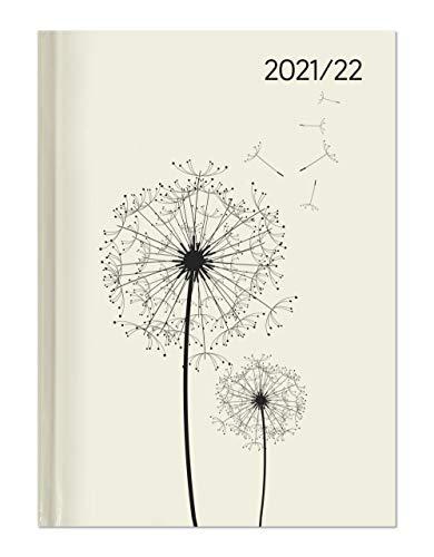 Campustimer Blowballs - A5 Semester-Planer - Studenten-Kalender 2021/2022 - Notiz-Buch - Pusteblume - Weekly - Alpha Edition