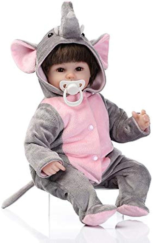 FindeGo 40CM reizende Silikon-Reborn-Baby-Puppe spielt Nette Naturgetreue Mode Baby Doll B07NXZQYVZ Online-Verkauf  | Günstig