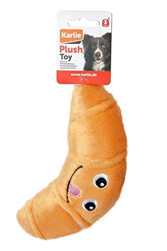 Karlie Hundespielzeug Plüsch Croissant L: 19 cm beige