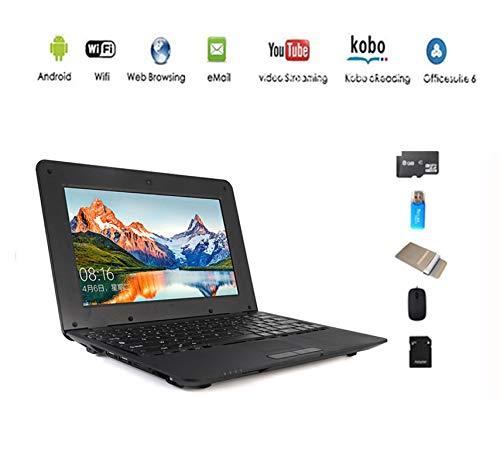 Anitech Netbook Ordinateur Portable Ultrabook Android 4.2 HDMI(WiFi-SD-MMC), PC Portable avec (5 PCS Accessoires)