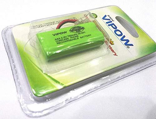 SANDY VIPOW AAA 2.4V 750mAh Cordless Phone Rechargeable Battery