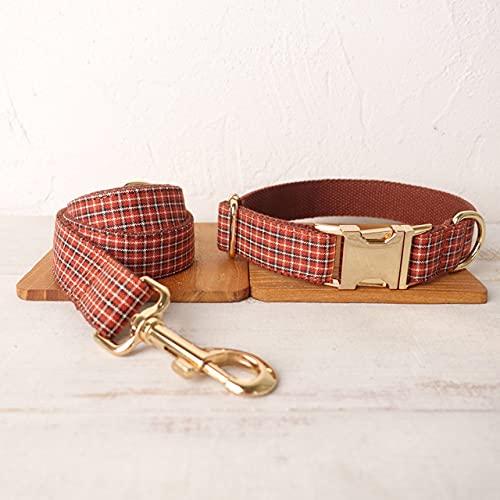 Collar de Perro único Conveniente para pasear el Accesorio de la Correa del Perro para Perros pequeños, medianos y Grandes, tamaño 5, Juego de Correas para Collar de Perro, S