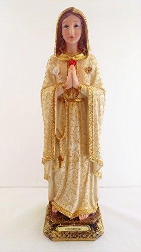16 Inch Rosa Mistica Mystica Catholic Statue...