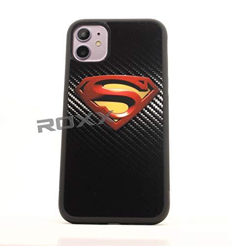ROXX (iPhone11-Super) Rubber Rubber Grip Cases Wonder Superman for iPhone 11