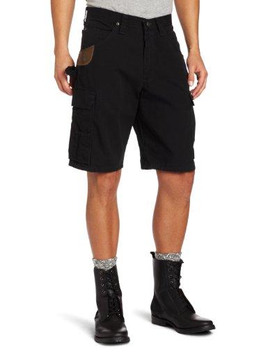 Wrangler Riggs Workwear Men's Ripstop Ranger Short, Black, 34