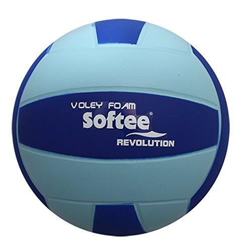 Softee Equipment Balon Voleibol Revolution, Azul, Talla Única