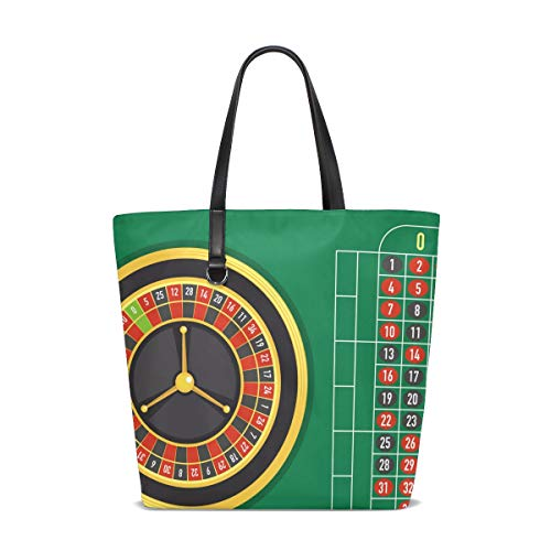Montoj Roulette-Tisch/Strandtasche, Damentasche