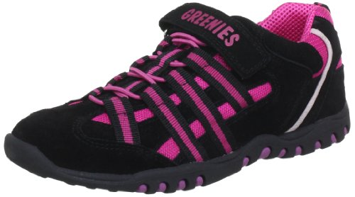 Greenies Mädchen 150275 Sneaker, Schwarz (Black), 29 EU