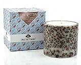 Vela artesanal Antico Caffè Novecento Lumetta con granos de café reales - 1 x Diámetro cm. 12