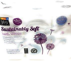 365 Everyday Value, Sustainably Soft Bath Tissue, 12 ct
