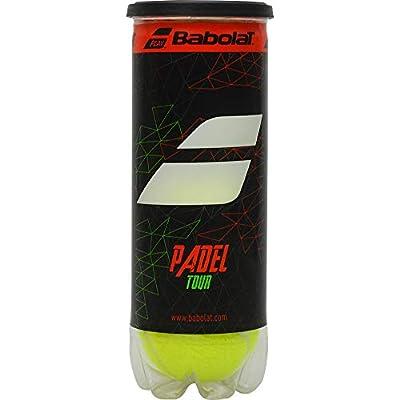 Babolat Padel Tour X3 Pelota, Adultos Unisex, Jaune (Amarillo), Talla Única