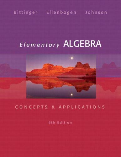 Elementary Algebra: Concepts and Applications Plus NEW MyLab Math with Pearson eText -- Access Card Package (9th Edition