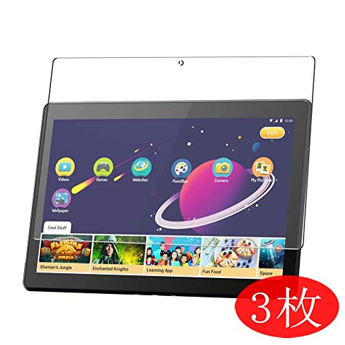 【3 Pack】 Synvy Screen Protector for Lenovo Smart Tab M10 10.1 TPU Flexible HD Film Protective Protectors [Not Tempered Glass]