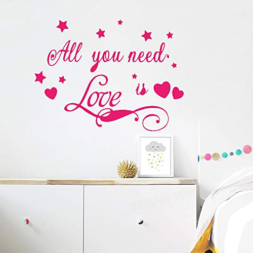 Yaonuli creatieve muurstickers voor slaapkamer, sterren, kaart