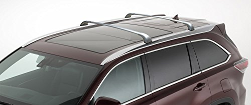 BRIGHTLINES Cross Bars Roof Racks Replacement for 2014-2019 Toyota Highlander XLE Limited Silver