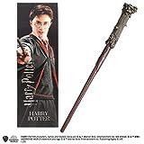 La Nobile Collezione Harry Potter Bacchetta in PVC e segnalibro prismatico