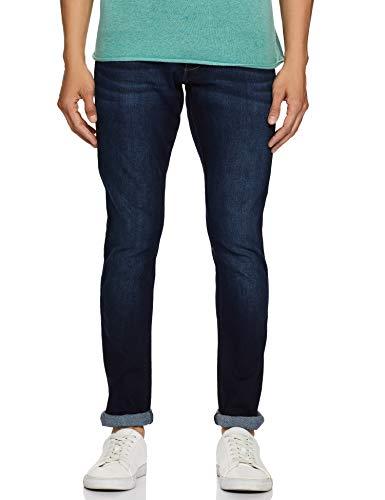 Wrangler Men's Skinny Fit Jeans (W38717W22SMU_Jsw-Indigo_36W x 33L)