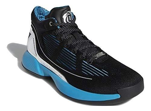 adidas Hombre D Rose 10 - Star Wars Zapatos de Baloncesto Negro, 45 1/3