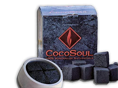 COCOSOUL Carbon para cachimbas. Shisha, Hookah 4kg. Carbon Premium DE Coco. 26X26mm