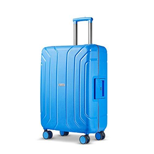 Equipaje 20/25 pulgadas damas y niñas contraseña bolsas de viaje de casos de embarque PP Material de niños carro de equipaje de ruedas universal Maleta Para los viajes de negocios y viajes