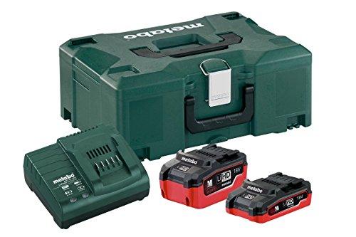 Metabo 685079000 Set de base avec 2 piles/chargeur, Vert