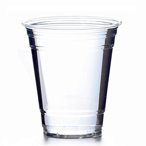 50 x drinkbeker PET 0,3 l glashelder plastic beker Clear Cups